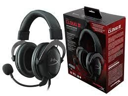 Headset Gamer HyperX 7.1 Cloud II Preto - khx-hscp-gm