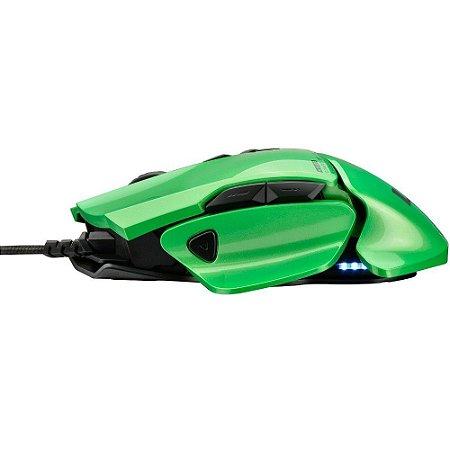 Mouse Gamer Multilaser Warrior 8200dpi 8 botões led colorido - mo247