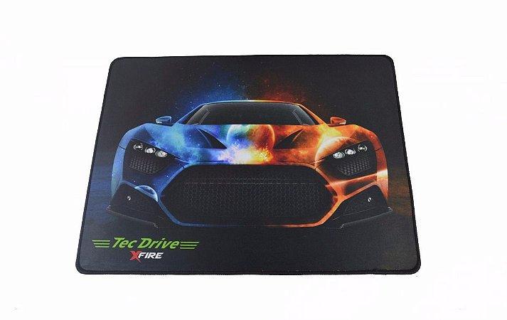 Mousepad Gamer tecdrive xfire car-fire 44x35 cm