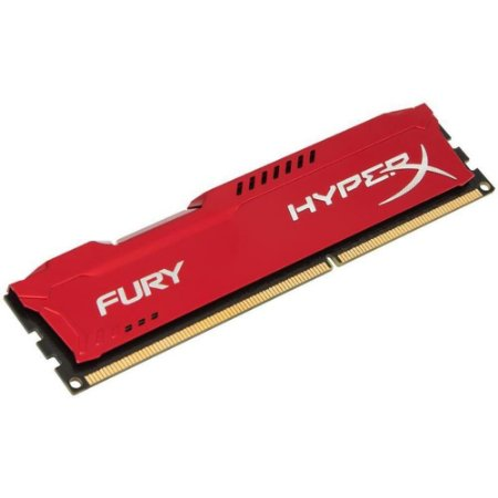 Memória Gamer HyperX FURY 8GB 1866Mhz DDR3 CL10 Red - HX318C10FR/8
