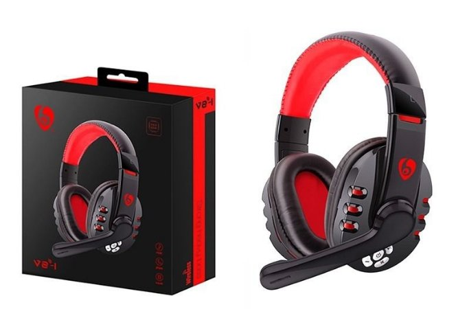 Headset Gamer Pc Note Ps3  Sem Fio-Q8