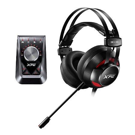 Headset Gamer XPG EMIX H30 SE 7 1 e Amplificador SOLOX F30