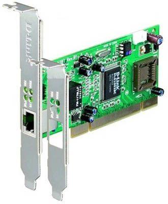 Placa de rede D-Link  GigaExpress 10/100/1000Mb DGE-528T