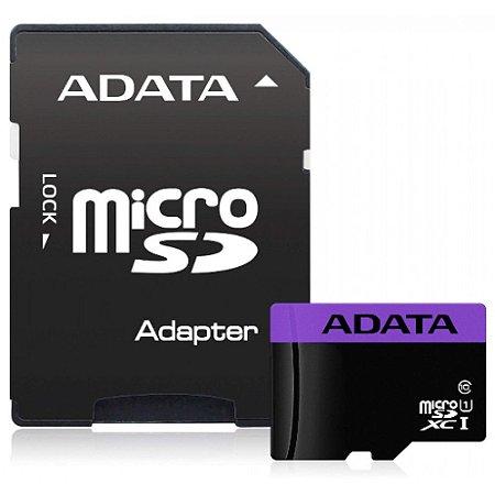 Cartão De Memoria Adata 32gb Class 10-AUSDH32GUICL10-RA1