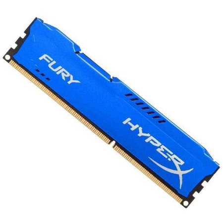 Memória Gamer HyperX FURY 4GB 1866Mhz DDR3 CL10 Blue-HX318C10F/4