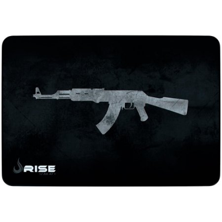 Mouse Pad Gamer Rise Mode Ak47 Medio Borda Costurada (290x210mm) - RG-MP-04-AK