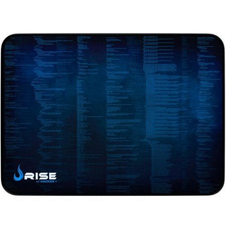 Mouse Pad Gamer Rise Mode Hacker Medio Borda Costurada (290x210mm) - RG-MP-04-HCK