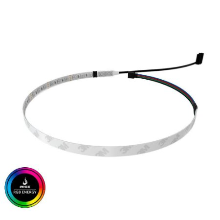 Tira de LED para Gabinete Rise Mode - RGB Molex 50Cm