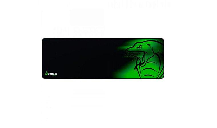 Mouse Pad Gamer Rise Mode Snake Extended Borda Costurada (900x300mm) - RG-MP-06-SE