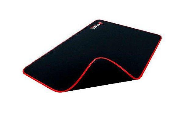 Mouse Pad Gamer Rise Mode Zero Vermelho Grande Borda Costurada (420x290mm) - RG-MP-05-ZR