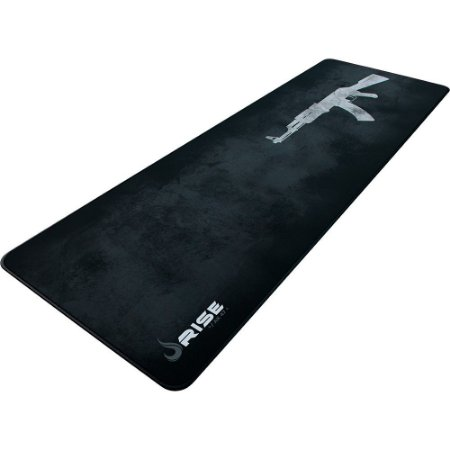 Mouse Pad Gamer Rise Ak47 Extended Borda Costurada Rg-Mp-06-Ak