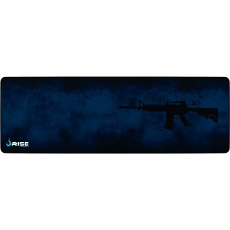 Mouse Pad Gamer Rise Mode M4A1 Extended Borda Costurada (900x300mm) - RG-MP-06-M4A