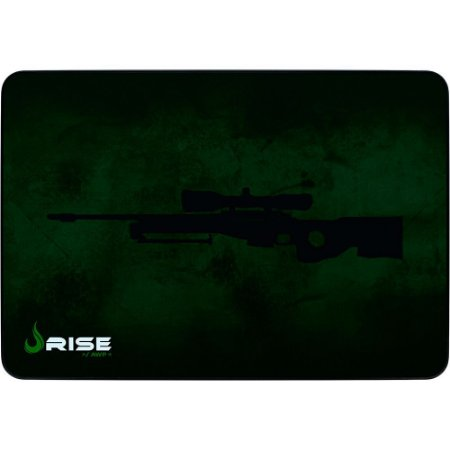 Mouse Pad Gamer Rise Mode Sniper Grande Borda Costurada (420x290mm) - RG-MP-05-SNP