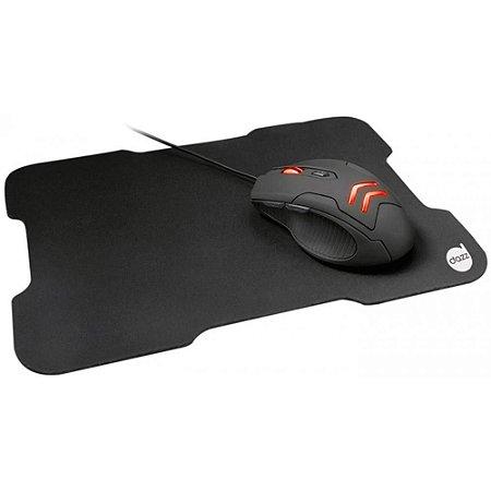Kit Gamer Dazz Striker - Mouse LED e Mousepad Speed, Médio - 62499-6