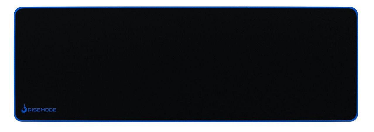 Mouse Pad Gamer Rise Mode Zero Azul Extended Borda Costurada (900x300mm) - RG-MP-06-ZB