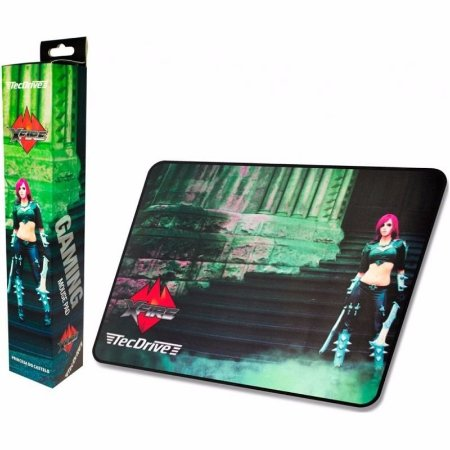 Mousepad Gamer tecdrive  Speed princesa do castelo 44x35 cm