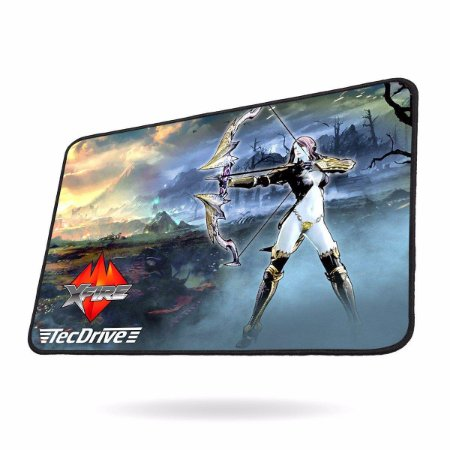 Mousepad Gamer tecdrive  Speed A Caçadora 44x35 cm