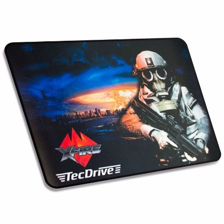Mousepad Gamer tecdrive  Speed Nuclear  44x35 cm