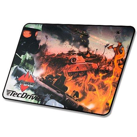 Mousepad Gamer tecdrive  Speed Battle Strike 44x35 cm