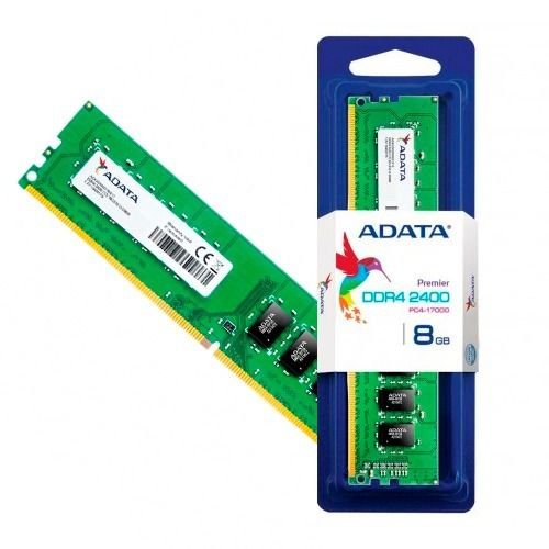 Memoria Adata 8gb (1x8) 2400mhz Ddr4, Ad4u240038g17-S