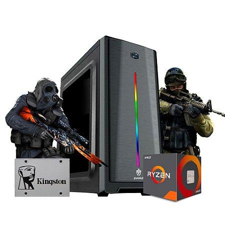 Pc Gamer Megatumii Speed AMD Ryzen R3 3200G 8gb SSD 240gb