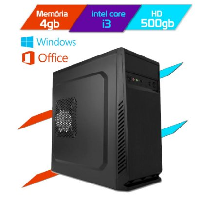 Computador Megatumii Enterprise Office Core I3 2100 HD
