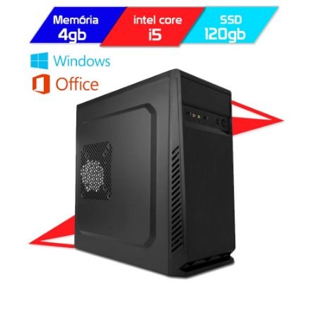 Computador Megatumii Enterprise Starter I5 2400 SSD 120gb