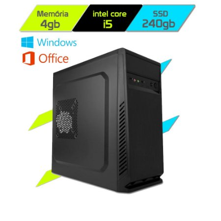 Computador Megatumii Enterprise Pro Core I5 2400 SSD