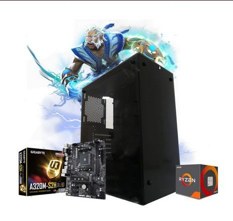 Pc Gamer Megatumii AMD Ryzen R3 3200G 2x4gb HD 320gb