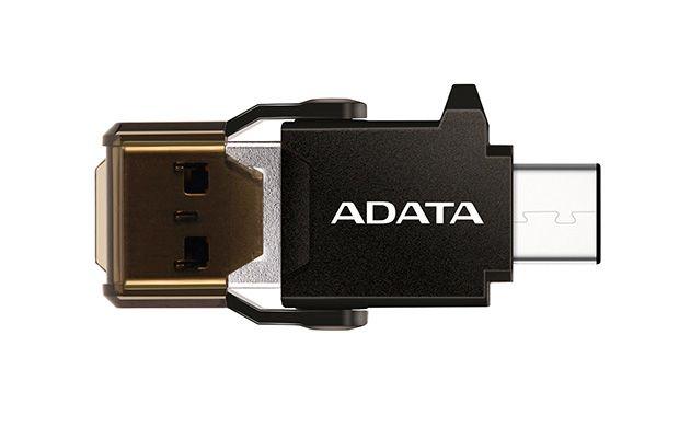 Adaptador Adata USB-C ACMR3PL-OTG-RBK