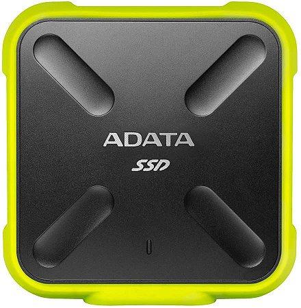 SSD External Amarelo ADATA 512GB ASD700 ASD700-512GU31-CYL