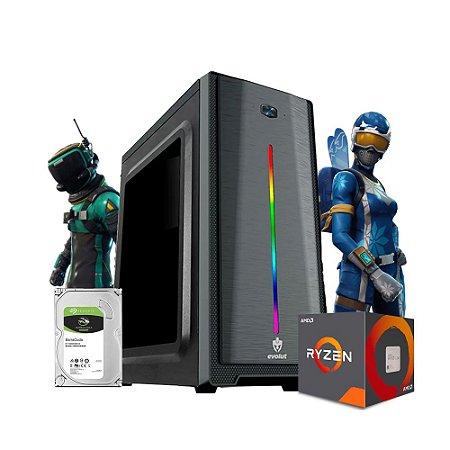 Pc Gamer Megatumi Stack Amd Ryzen R3 3200G, 8gb Hd 1tb
