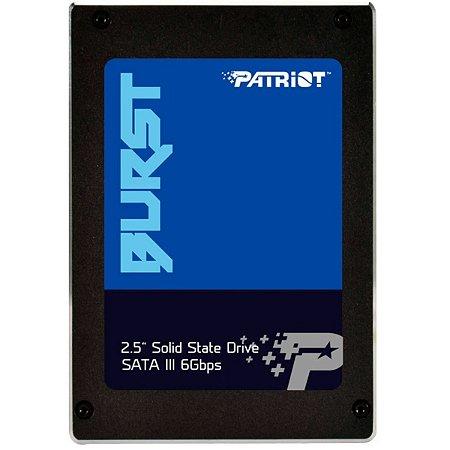 SSD Patriot 120gb Leitura 560 Mb/S - Pe000541-Pbu120gs25ssdr