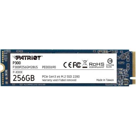 SSD Patriot P300 256gb 1700MBs PE000690-P300P256GM28US