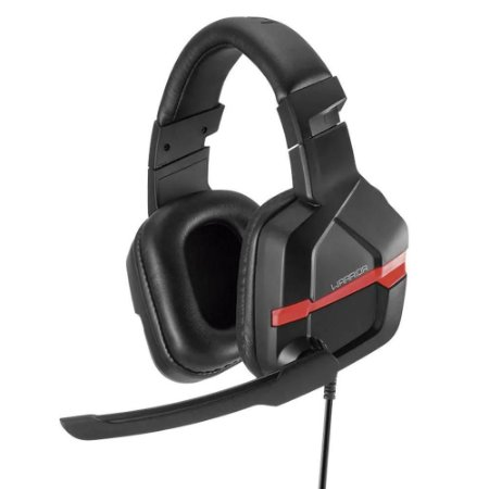 Headset Gamer Warrior Askari PC Smartphone Red - PH293