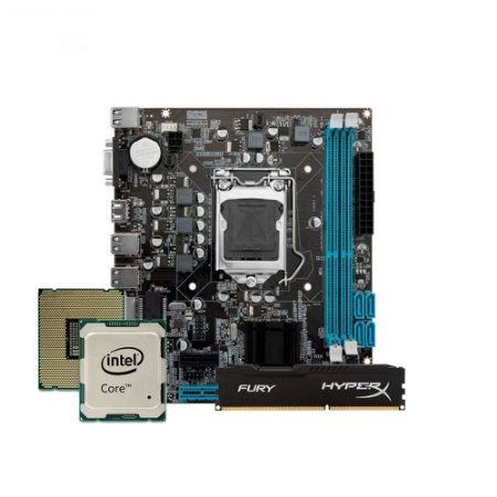 Kit Upgrade Gamer Megatumii Intel i5 Memória 4gb Hyperx