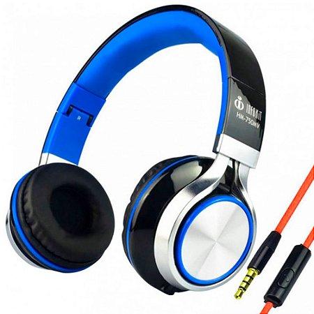 Headfone Com Microfone Para Pc E Smartphone - Hm-750mv