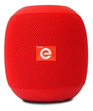 Caixa de Som Bluetooth Portátil - Vermelha