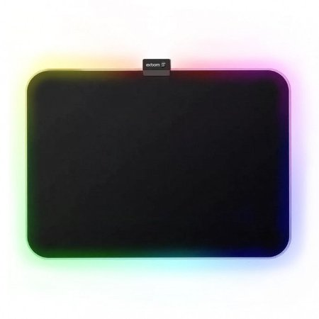 Mouse Pad Borda 7 Cores de Led - Exbom - MP-LED2535