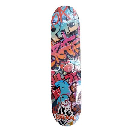 Skate Grafitti para Iniciante Completo Madeira 80 cm