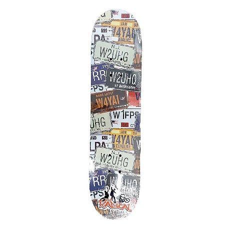 Skate para Iniciante Completo Madeira 80 cm - SKE17888-GPLA