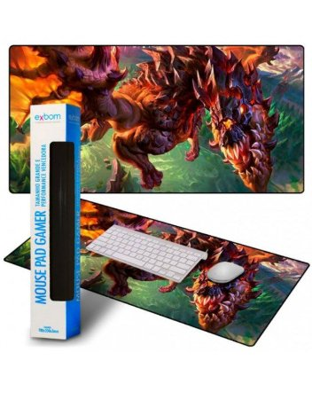Mouse Pad Gamer Exbom Grande 700x350x3mm