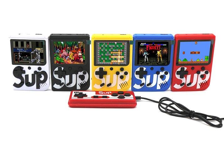 Mini Game Portátil 500 em 1 Jogos com Controle - SORTIDO