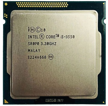 Processador Intel Core I5 3550 Lga 1155 3.3 -3.7ghz 6mb