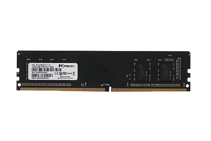 Memória Ktrok 8gb ddr4 2400mhz Para Desktop