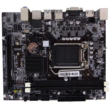 Placa Mãe Micro Atx Afox 1151 H310 Intel Ddr4