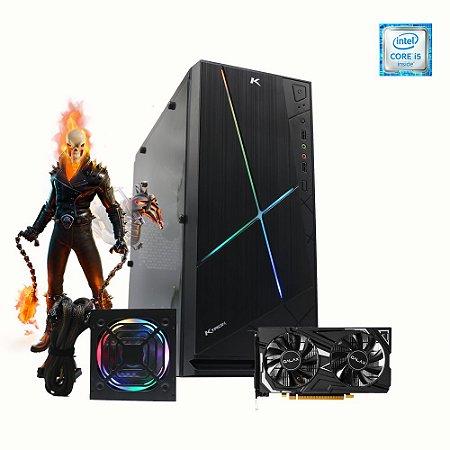 Pc Gamer Intel Fantasy I5-9400F 8gb SSD 480gb Placa Gtx 1650