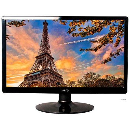 Monitor LED 19 Widescreen HDMI - Preto