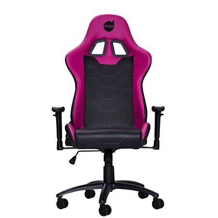 Cadeira Gamer Série M Dazz Preto/Rosa