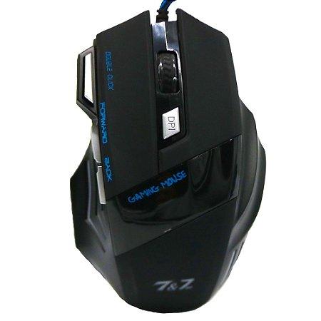 Mouse Gamer LED 2400 DPI